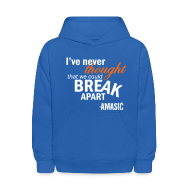 Sweatshirts ~ Kids' Hooded Sweatshirt ~ Break Apart