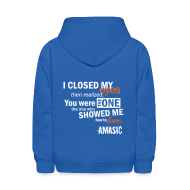 Sweatshirts ~ Kids' Hooded Sweatshirt ~ Eyes