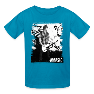 Kids' Shirts ~ Kids' T-Shirt ~ Amasic Black & White