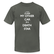 T-Shirts ~ Men's T-Shirt by American Apparel ~ My Other Car