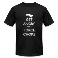 T-Shirts ~ Men's T-Shirt by American Apparel ~ Get Angry Guys