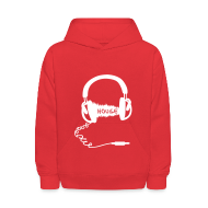 Sweatshirts ~ Kids' Hooded Sweatshirt ~ FunkyHouseBeats kid's Hoodie