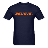 T-Shirts ~ Men's Standard Weight T-Shirt ~ TRT_GEAR Classic BELIEVE.