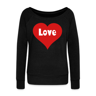 """I Love"" Custom Heart Apparel Long Sleeve Shirts"