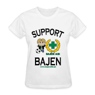 Women's T-Shirts ~ Women's Standard Weight T-Shirt ~ Support Bajen - Lt. Tee