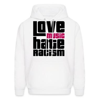 Love Music Hate Racism Hoodies
