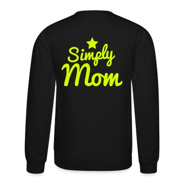 simply mom a star Long Sleeve Shirts