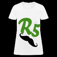 Women's T-Shirts ~ Women's T-Shirt ~ Green Glitter R5 Womens