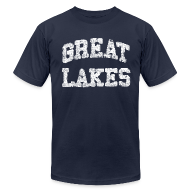 T-Shirts ~ Men's T-Shirt by American Apparel ~ Old Great Lakes