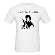 T-Shirts ~ Men's Standard Weight T-Shirt ~ dont fuck with chuck