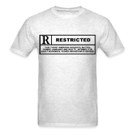 T-Shirts ~ Men's Standard Weight T-Shirt ~ restricted