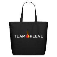 Bags & backpacks ~ Eco-Friendly Cotton Tote ~ Team Reeve Cotton Tote
