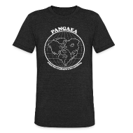 T-Shirts ~ Men's Tri-Blend Vintage T-Shirt ~ Men's Pangaea T-Shirt Black