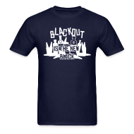 T-Shirts ~ Men's Standard Weight T-Shirt ~ Blackout is the New Black