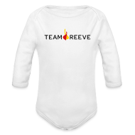 Baby & Toddler Shirts ~ Baby Long Sleeve One Piece ~ Team Reeve Baby Long Sleeve One Piece