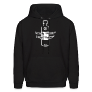 Hoodies ~ Men's Hooded Sweatshirt ~ You say