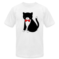 T-Shirts ~ Men's T-Shirt by American Apparel ~ Bow Tie