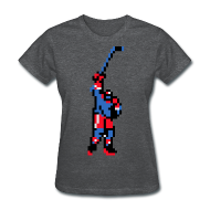 Women's T-Shirts ~ Women's Standard Weight T-Shirt ~ The Goal Scorer - Blades of Steel