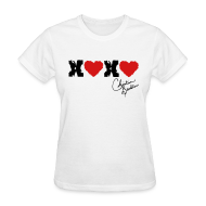 Women's T-Shirts ~ Women's Standard Weight T-Shirt ~ XOXO