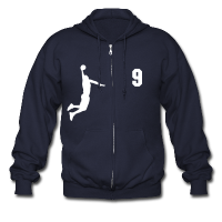 Men's Zipper Hoodie with design