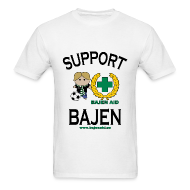 T-Shirts ~ Men's Standard Weight T-Shirt ~ Support Bajen - Men's Lt. Tee