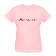 Women's T-Shirts ~ Women's Standard Weight T-Shirt ~ Abstinence Ladies