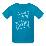 Kids' Shirts ~ Kids' T-Shirt ~ Tater Bots for Kids