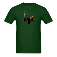 T-Shirts ~ Men's Standard Weight T-Shirt ~ Boba Fett