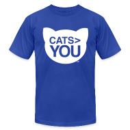 T-Shirts ~ Men's T-Shirt by American Apparel ~ Cats  You