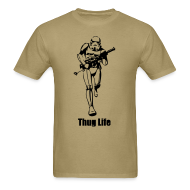 T-Shirts ~ Men's Standard Weight T-Shirt ~ Thug life