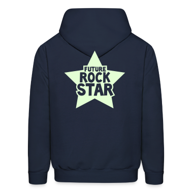 future rock star in pink Hoodies
