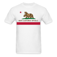 T-Shirts ~ Men's Standard Weight T-Shirt ~ NCR flag F:NV