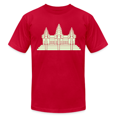 Angkor Wat / Khmer / Cambodian Flag / Glow in the Dark T-Shirts