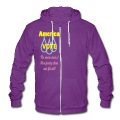 vote_america3 Zip Hoodies/Jackets