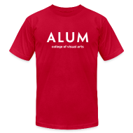 T-Shirts ~ Men's T-Shirt by American Apparel ~ CVA Men's Alum t-shirt