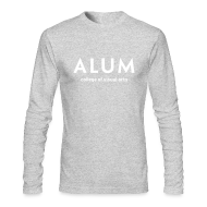 Long Sleeve Shirts ~ Men's Long Sleeve T-Shirt by American Apparel ~ CVA Men's Alum long sleeve