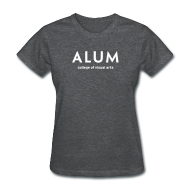 Women's T-Shirts ~ Women's Standard Weight T-Shirt ~ CVA Women's Alum T-Shirt