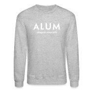 Long Sleeve Shirts ~ Men's Crewneck Sweatshirt ~ CVA Men's Alum crewneck sweatshirt
