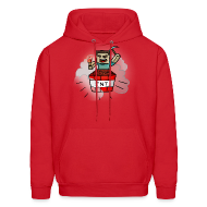 Hoodies ~ Men's Hooded Sweatshirt ~ TNT Steve