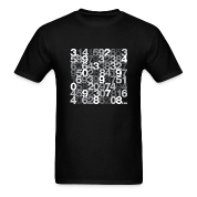 Pi shirt - Black/grey unisex tee