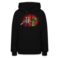 Hoodies ~ Women's Hooded Sweatshirt ~ Creeper Kill