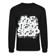 Long Sleeve Shirts ~ Men's Crewneck Sweatshirt ~ The Next Step 2.0 Graffiti Crewneck Red, Navy, Black, Gray