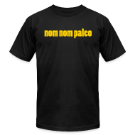 T-Shirts ~ Men's T-Shirt by American Apparel ~ Nom Nom Paleo (Men's)