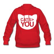 Hoodies ~ Women's Hooded Sweatshirt ~ Cats  You