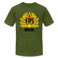 T-Shirts ~ Men's T-Shirt by American Apparel ~ American Apparel : Special Edition FPS Russia
