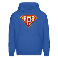Hoodies ~ Men's Hooded Sweatshirt ~ Mens Hoodie : FPS Super Hero