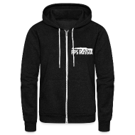 Zip Hoodies/Jackets ~ Unisex Fleece Zip Hoodie by American Apparel ~ American Apparel Zipper : FPS Russia AK-47