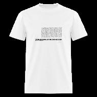 T-Shirts ~ Men's T-Shirt ~ 900 games 1 club