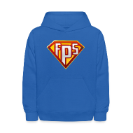 Sweatshirts ~ Kids' Hooded Sweatshirt ~ Youth Hoodie : FPS Super Hero