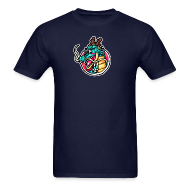T-Shirts ~ Men's Standard Weight T-Shirt ~ Zee Dragon logo